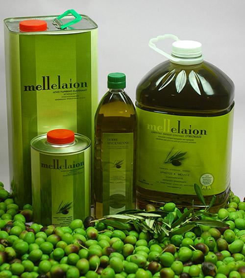 Συσκευασίες 1ltr & 5ltr Mellelaion